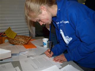 Revising written work