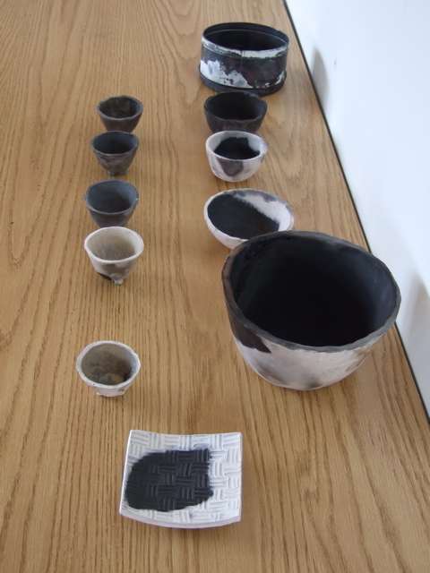 Some of Katy Dodge's pottery